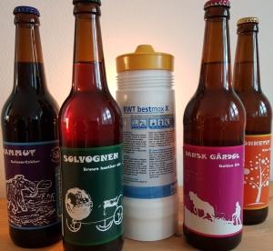 Tikøb Bryghus i Nordsjælland og Borren Bryghus i Odsherred samarbejder om ølbrygning.