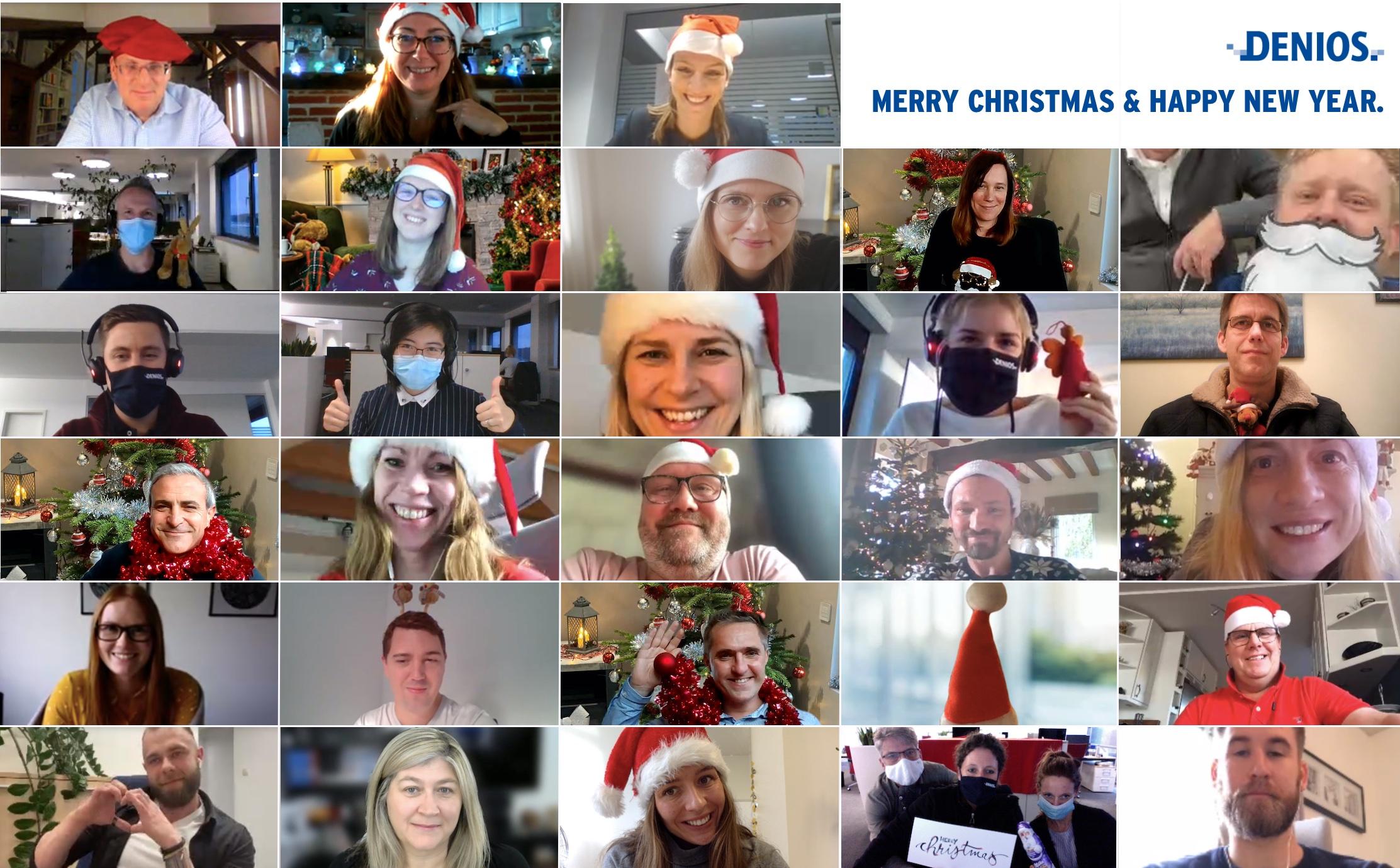 Glædelig jul og godt nytår fra DENIOS