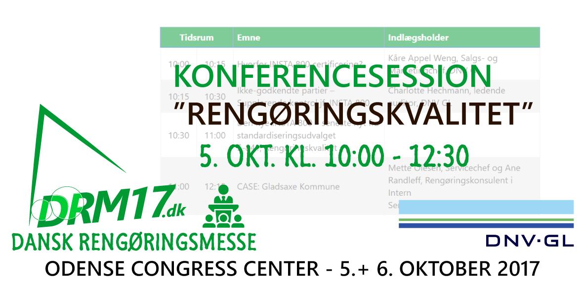 DNV GL Er konferencepartner
