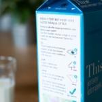 Mælkekarton skal begrænse madspild