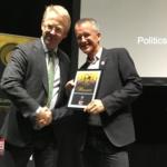 Paul Holmbeck modtager økologisk pris