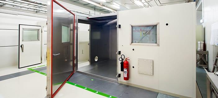 Dekontamineringsrum til rengøring