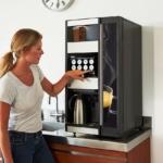 Gå på nettet med kaffemaskinen