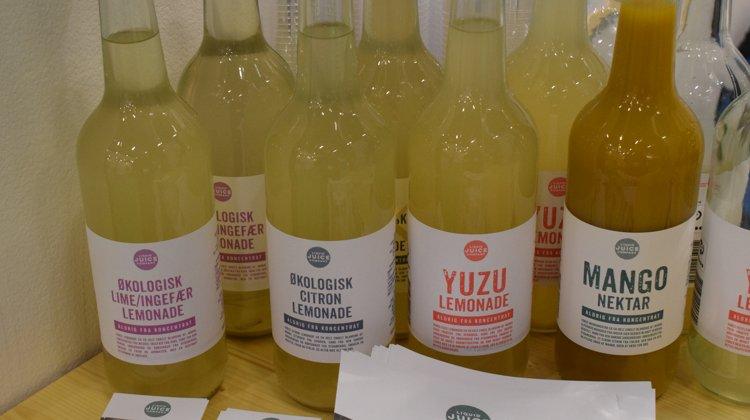 Liquid Juice Company laver nektarer og limonader uden tilsætningsstoffer, som de blandt andet sælger til en del kantiner landet over.