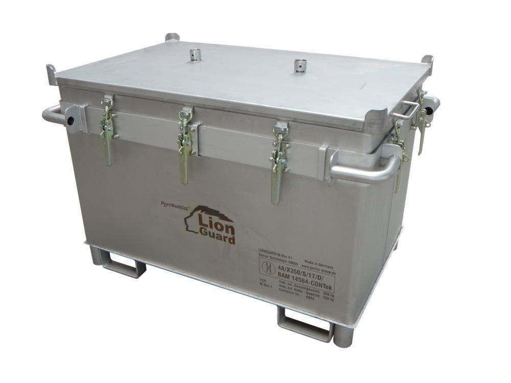 Transportboks til lithium-ion batterier