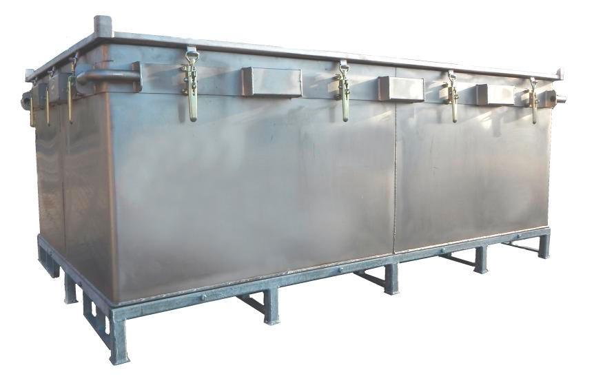 Transportboks til lithium-ion